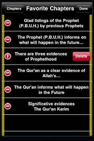 The Miracles of Prophet Muhammed (P.B.U.H) by ibn kathir ( Extracted From Quran and Hadees ) ISLAM Screenshot