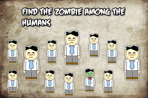 Brainless Zombie Quiz Lite Screenshot
