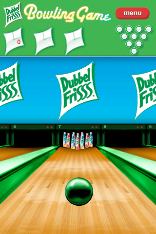 DubbelFrisss Bowling Game Screenshot