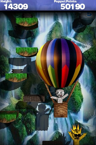 Puppet Jump 3D Lite (bluetooth multiplayer) Screenshot