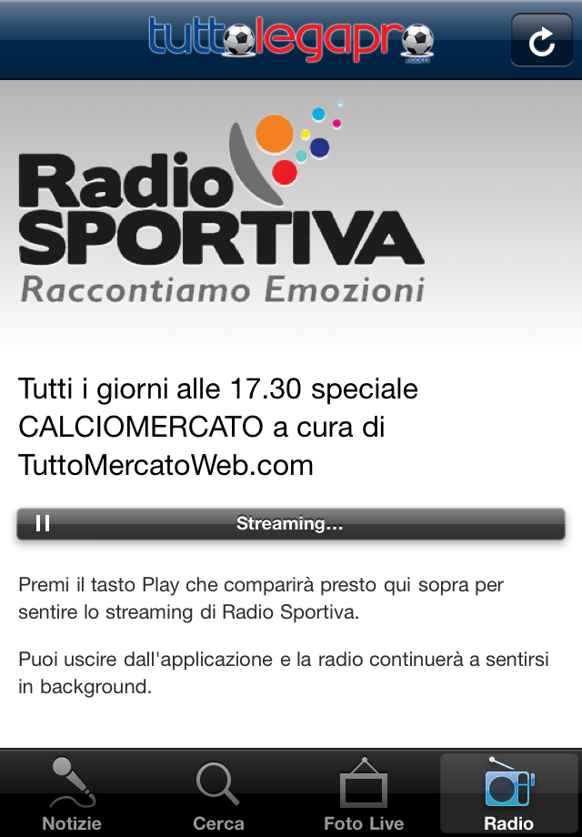 TuttoLegaPro.com Screenshot