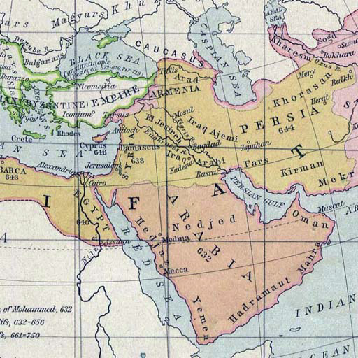 history on the middle east