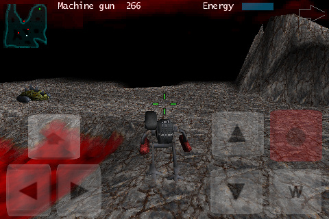 Cybersaurus 3D Screenshot