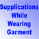 Supplication while Wearing Garments Icon