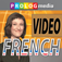 FRENCH...  Everyone can speak! - A unique video phrase guide method to learn FRENCH! Comprises 20 chapters of 2.5 viewing hours, with transliteration and translation in the subtitles.