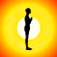 surya namaskar yoga Icon