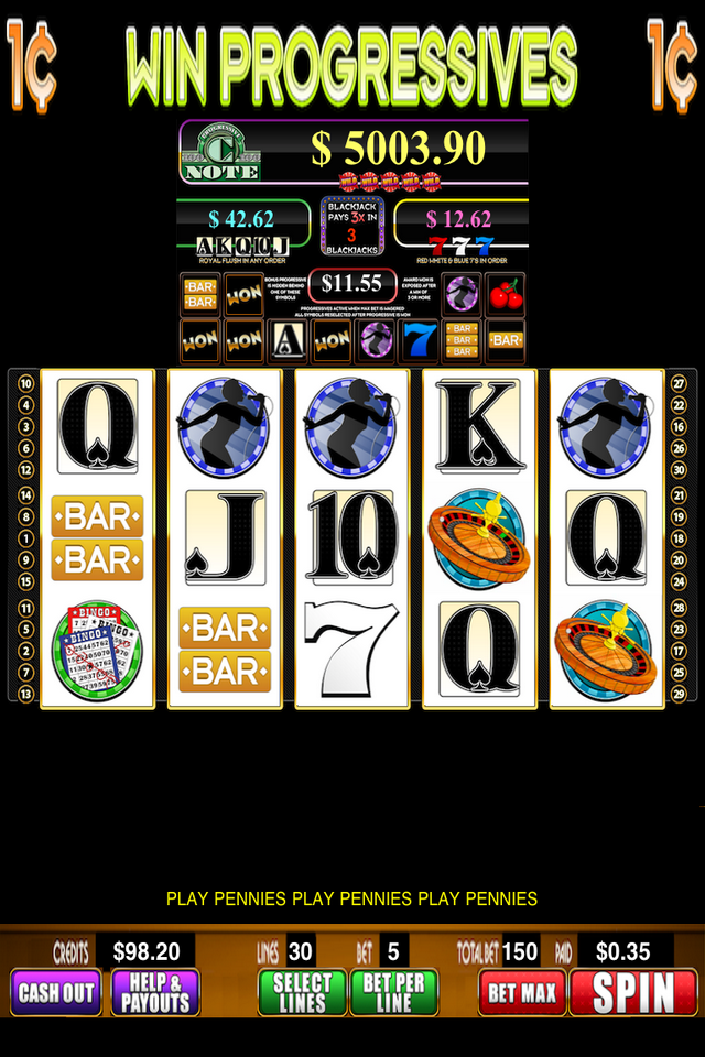 C Note Casino Screenshot