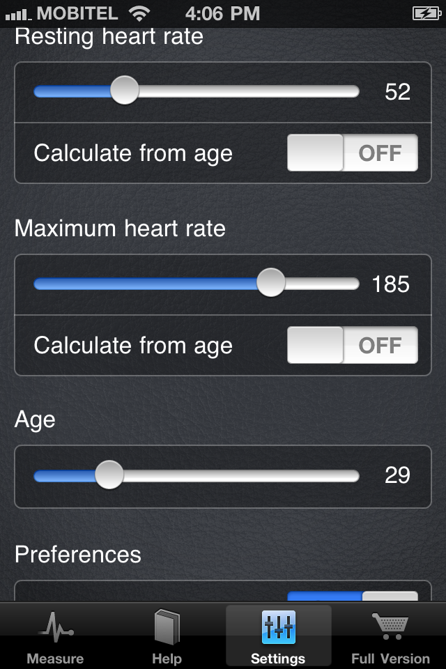 Instant Heart Rate – Free heart rate monitor for iPhone Screenshot