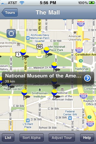 AIA DC Guide to the Architecture of Washington D.C. Screenshot