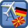 Traveller Dictionary and Phrasebook German – Macedonian Icon