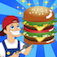 Yummy Burger Game Apps-Funny,Cute,Simple,Easy Tap Flick Fun Doodle App Games Icon