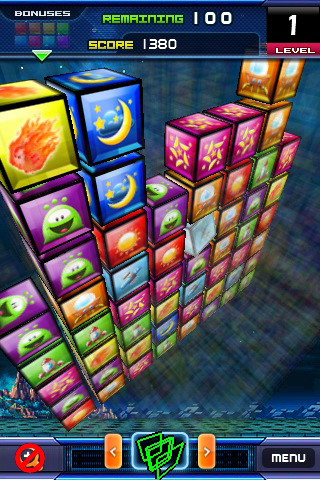 Match 3D Flick Puzzle FREE! Screenshot