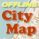 Montpellier Offline City Map with POI Icon