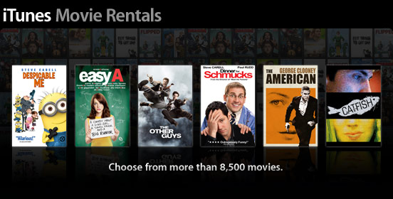 iTunes Movie Rentals