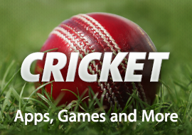 Cricket : Apps, Games and More