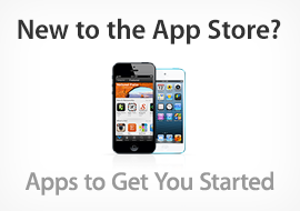 New to the App Store? Apps to Get You Started
