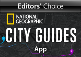 Editors' Choice: National Geographic City Guides App