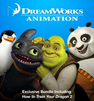DreamWorks Animation Exclusive Bundle