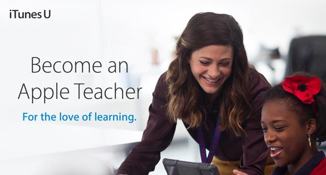 iTunes U - Become an Apple Teacher