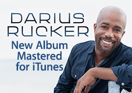 Darius Rucker: New Album Mastered for iTunes