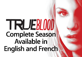 True Blood: Complete Season Available in English and French