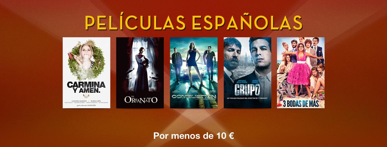 Películas Españolas: Por menos de 10 €