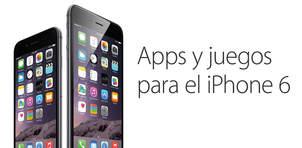 Apps y juegos para el iPhone 6