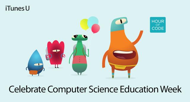 iTunes U - Celebrate Computer Science Education Week