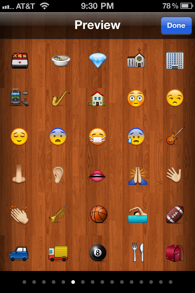 + Emoji Screenshot