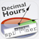 Minutes to Decimal Hours Conversion Spinnner Icon