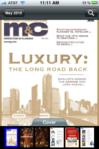 M&C Magazine Screenshot