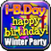 i-B.Day Winter Party! Your Portable Birthday Party Icon
